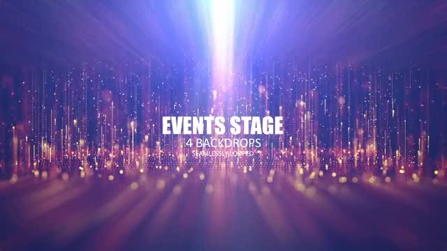 Events Stage: Stock Motion Graphics