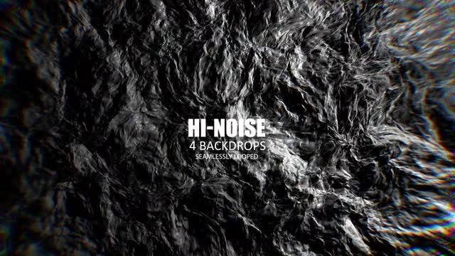 Hi-Noise Background Pack: Stock Motion Graphics