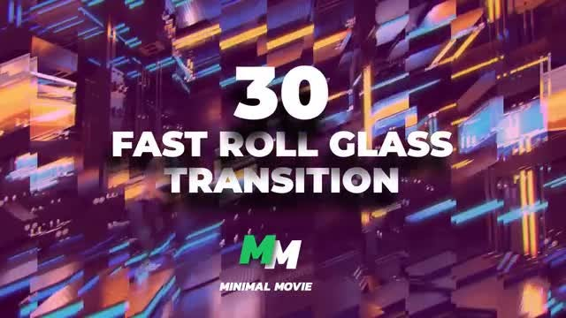 30+ Fast Roll Glass Transition: Premiere Pro Presets