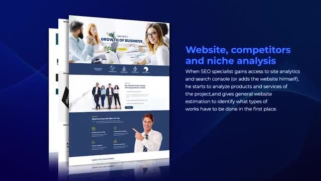 Clean Website Promo: After Effects Templates