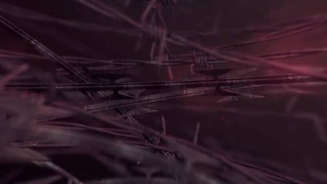 Barbed Wire Dark: Stock Motion Graphics