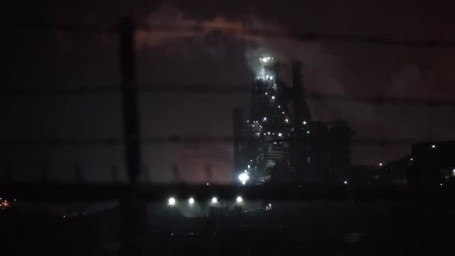 Industrial Refinery Plant: Stock Video