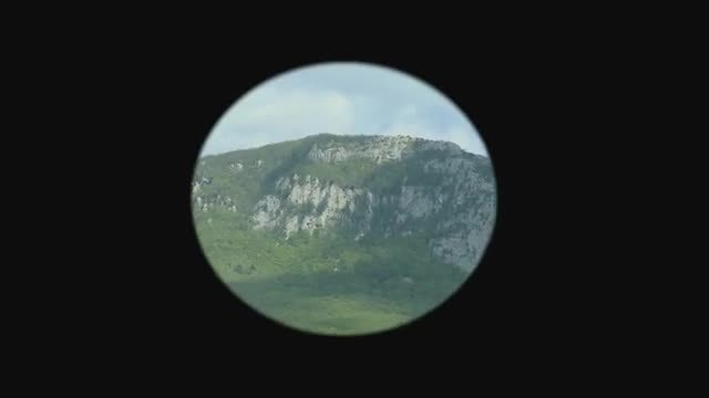 View From Telescope: Stock Video