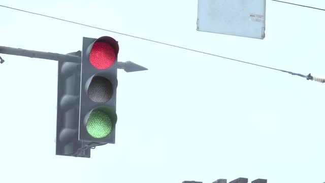 Broken Traffic Light: Stock Video