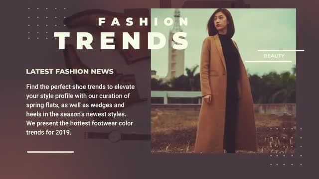 Fashion Promo Presentation After Effects Templates