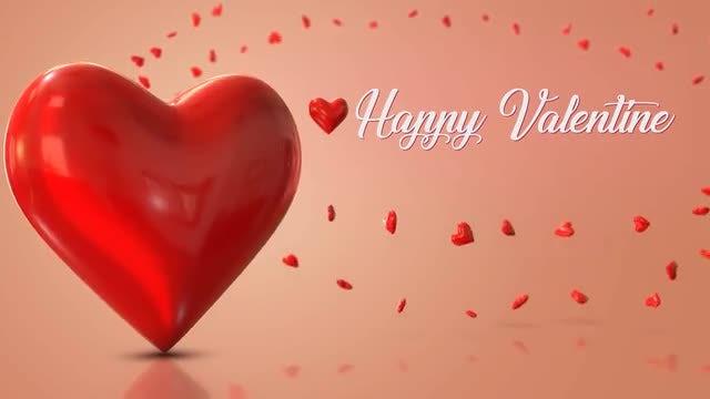 Happy Valentine 2 Loop: Stock Motion Graphics