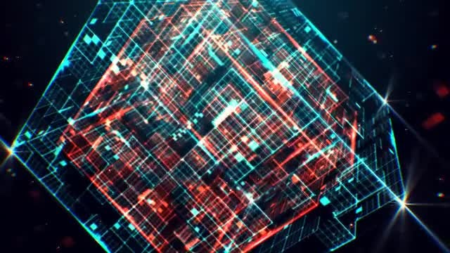 Tech Cube Logo: After Effects Templates