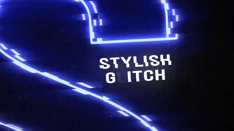 Glitch Titles  Opener: After Effects Templates
