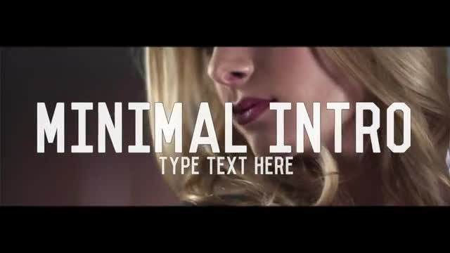 Minimal Intro: After Effects Templates