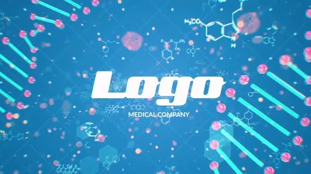 DNA Logo Reveal: After Effects Templates