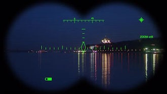 Digital Binoculars View: Motion Graphics
