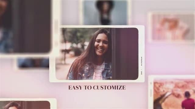 Moments Frame Slideshow: After Effects Templates