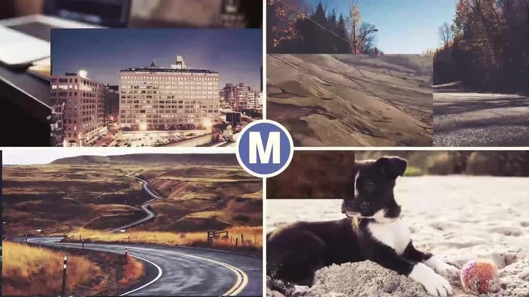 Logo Photo Slides: After Effects Templates