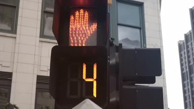 Cross Walk: Stock Video