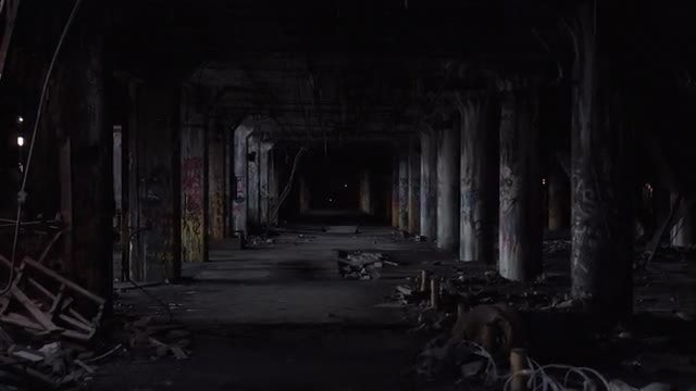Abandoned Factory: Stock Video