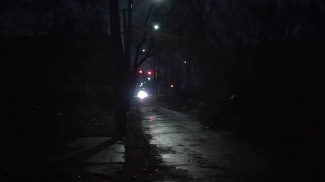 Desolate Street: Stock Video