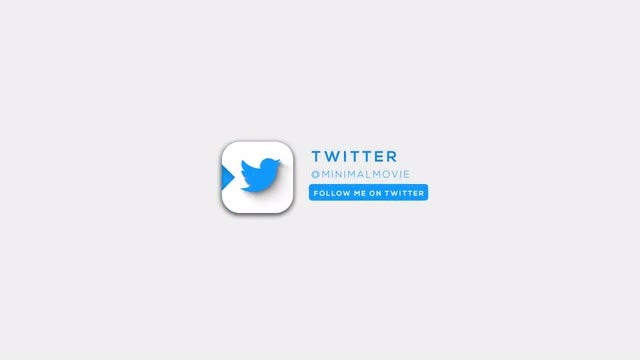 Clean Social Logo: After Effects Templates
