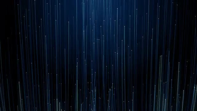 Blue Particles Background Loop: Stock Motion Graphics