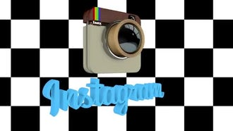 Instagram Logo Spin: Motion Graphics