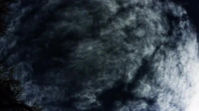 Night Sky Star Timelapse: Stock Video