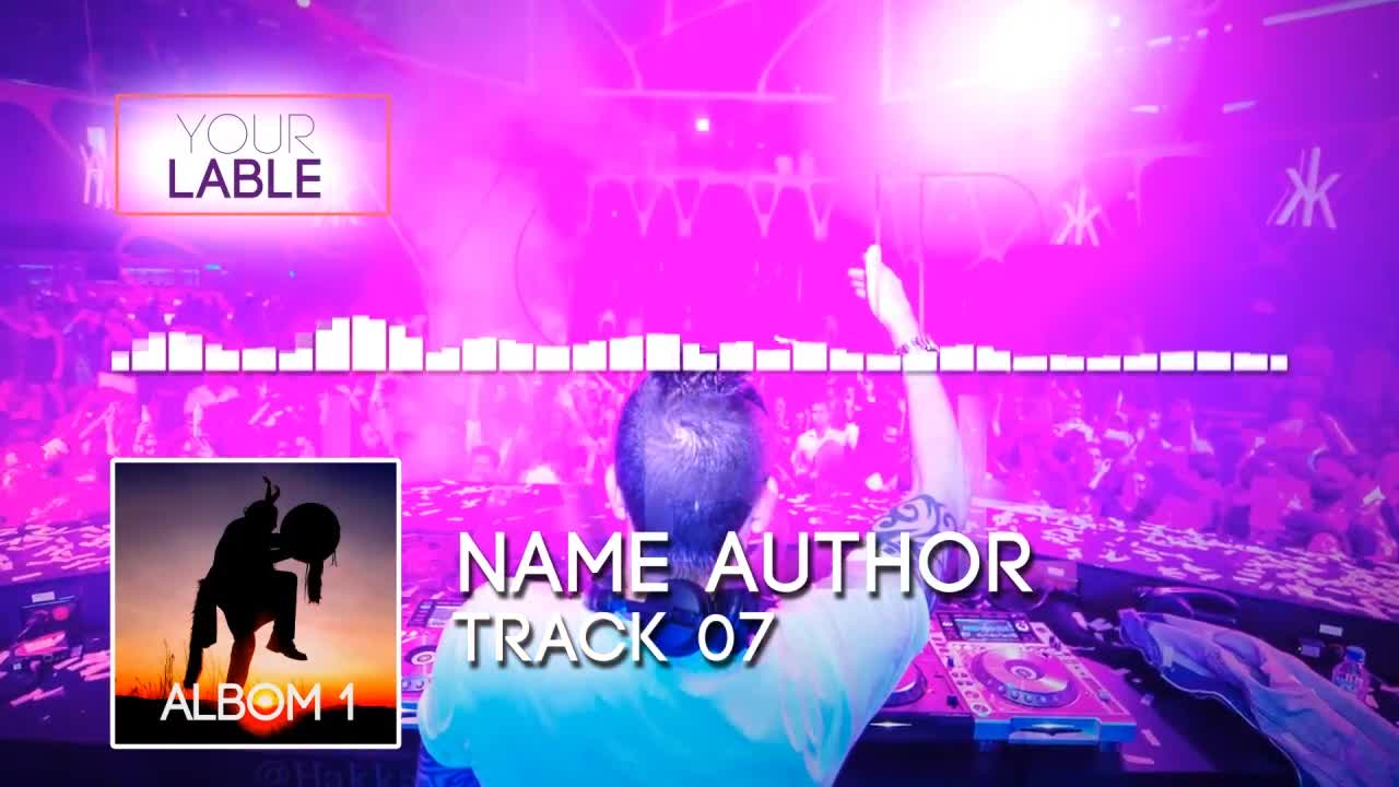 DJ Music Equalizer - After Effects Templates   Motion Array