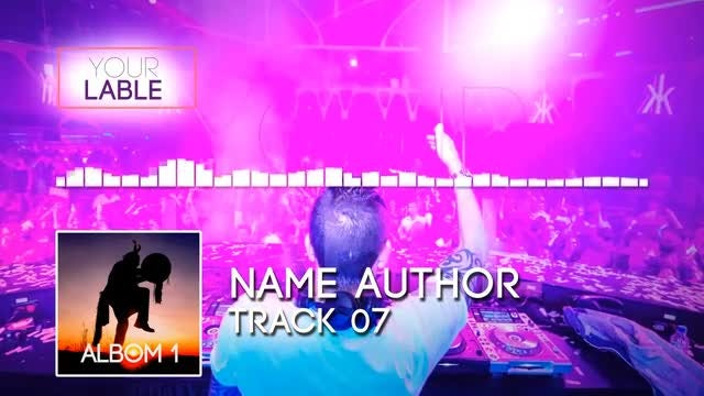 DJ Music Equalizer: After Effects Templates