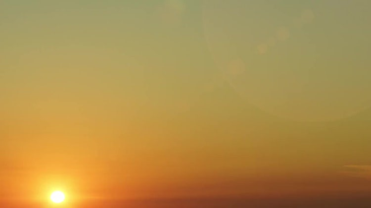 Real Dawn Sunrise Sky: Stock Video