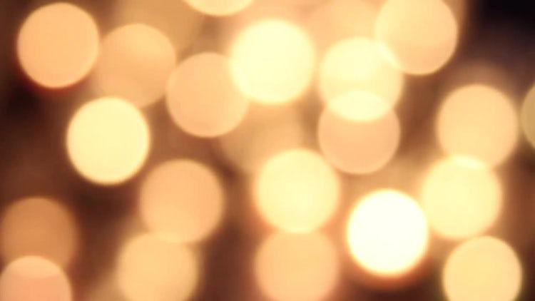 Light Bokeh Background: Stock Video