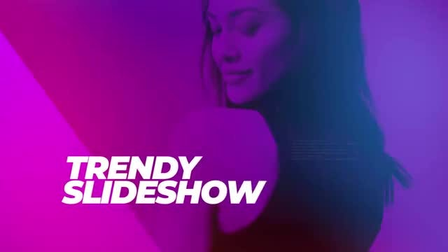 Trendy Slideshow: Premiere Pro Templates