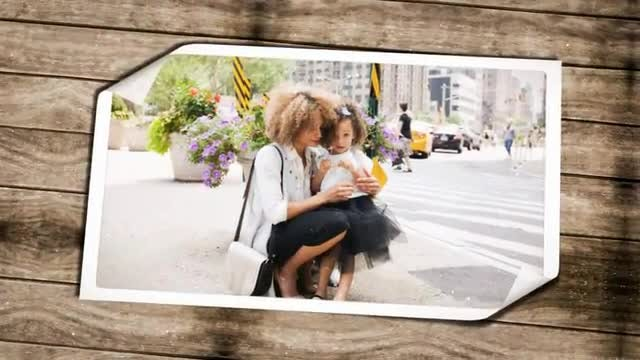 Family Moments Slideshow: After Effects Templates