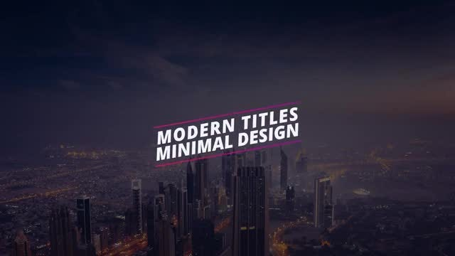 New Colorful Titles: Motion Graphics Templates