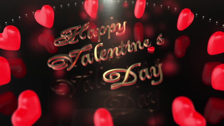 Valentine's Day Heart Encircling Pack: Stock Motion Graphics