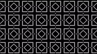 3 Kaleidoscopic background B&W: Motion Graphics