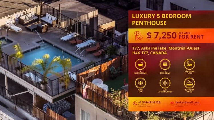 Real Estate Presentation: After Effects Templates