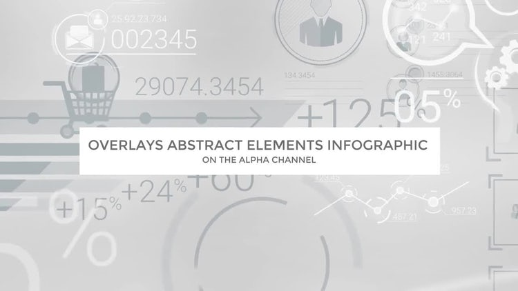 Overlays Abstract Elements Infographic: Motion Graphics