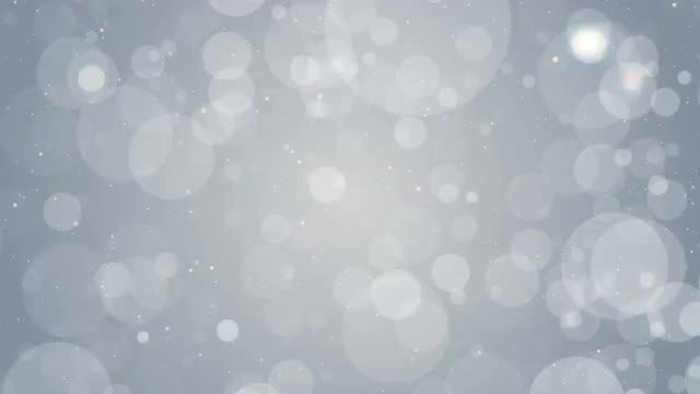 White Particles On Gray Loop: Stock Motion Graphics