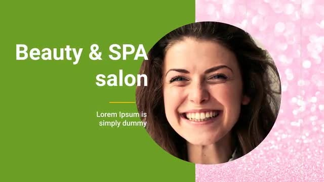Beauty Salon & Spa: After Effects Templates
