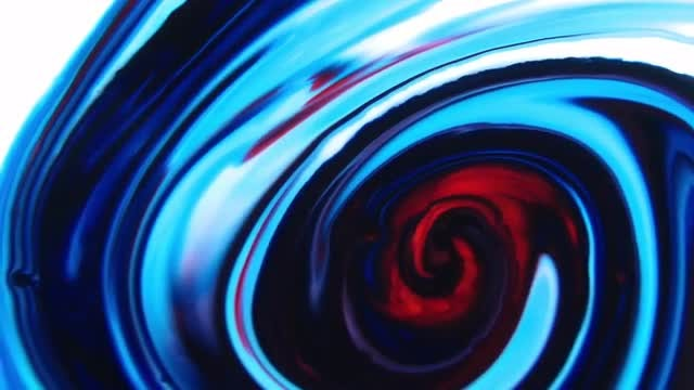 Paint Swirl: Stock Video