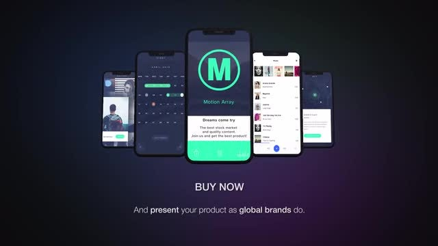 Stylish App Promo: After Effects Templates