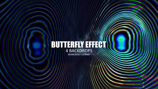 Butterfly Effect: Stock Motion Graphics