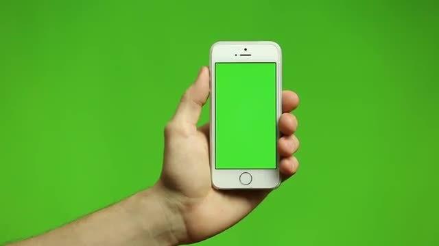 Phone Tap And Swipe: Stock Video