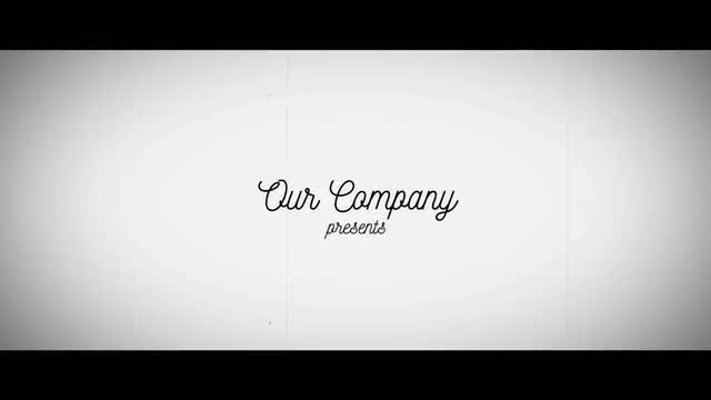 Vintage Corporate Slideshow Opener: After Effects Templates