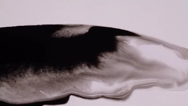 Ink Flow 07: Stock Video