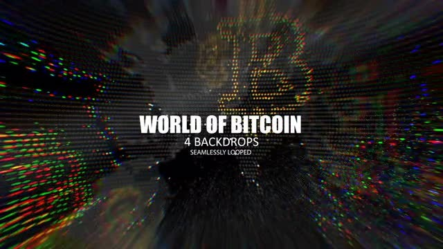 World Of Bitcoin: Stock Motion Graphics