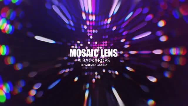 Mosaic Lens: Stock Motion Graphics