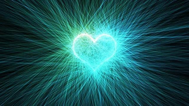 Wintery Heart Overlay: Stock Motion Graphics