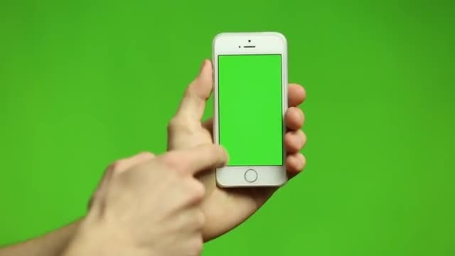 Smartphone Tap And Swipe: Stock Video