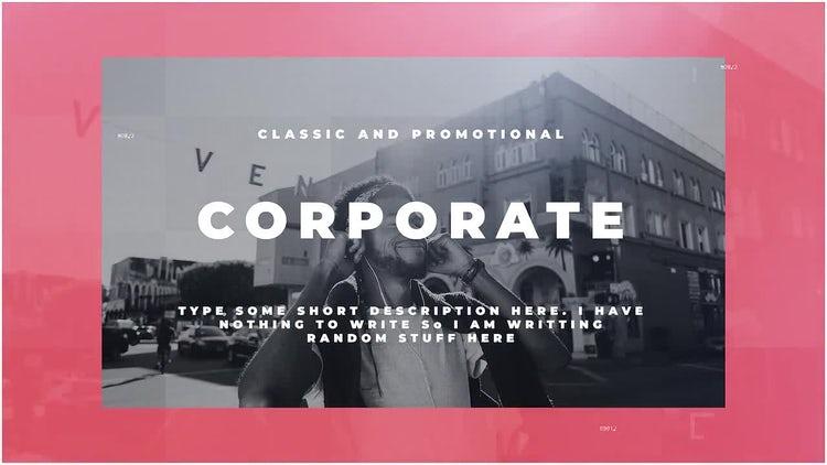 Corporate: Premiere Pro Templates