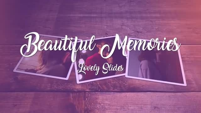 Beautiful Memories: After Effects Templates