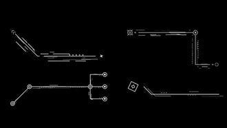 20 Pack Hi-Tech Callouts: Motion Graphics